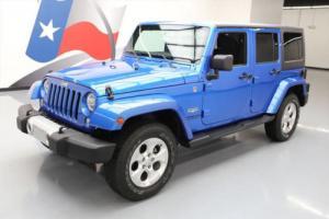 2015 Jeep Wrangler UNLTD SAHARA HARD TOP 4X4 NAV