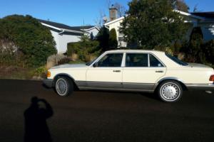 1986 Mercedes-Benz 300-Series SDL long body