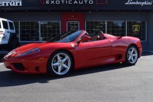 2004 Ferrari 360 Base 2dr Convertible