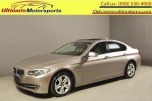 "2011 BMW 5-Series 2011 528i SUNROOF LEATHER PWR SEATS WOOD 17""ALLOYS"