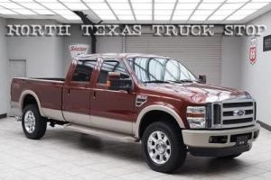 2008 Ford F-350 King Ranch 6.4L Long Heated Leather TEXAS TRUCK Photo
