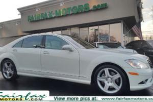 2008 Mercedes-Benz S-Class 4-MATIC AMG SPORT/PANORAMIC ROOF/NIGHT VISION