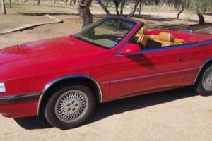 1991 Chrysler Other TC MASERATI CONV
