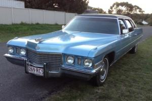 1971 Cadillac Fleetwood Limousine Limo Series 75 Special LTD
