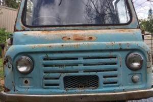 Morris J2 Van Vintage Ratrod Patina