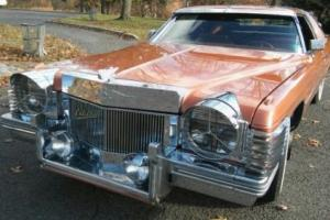 1974 Cadillac DeVille COUPE DE VILLE Photo