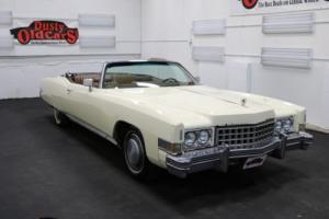1974 Cadillac Eldorado Runs Drives Body Int Good 500V8 3spd auto