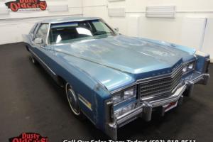 1978 Cadillac Eldorado Runs Drives Body Inter 425V8 3 spd auto