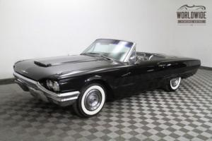 1964 Ford Thunderbird Tbird Convertible! Gorgeous Tuxedo Edition.