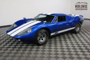1965 Ford GT40 REPLICA AMERICAN RACE HISTORY TRIBUTE