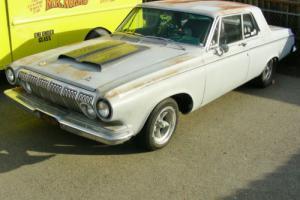 1963 Dodge 330 Sedan Sedan