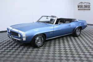 1969 Chevrolet Camaro RARE CONVERTIBLE 52K ORIGINAL MILES