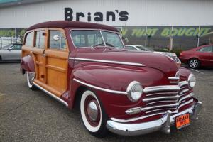 1947 Plymouth Woody -- Photo