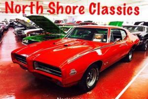 1969 Pontiac GTO WITH AC-NICE PAINT-REAL GTO 242 VIN-NICE PAINT