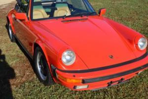 1986 Porsche 911 Cab