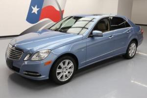 2012 Mercedes-Benz E-Class E350 LUXURY SEDAN SUNROOF NAV