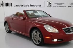 2006 Lexus SC CONVERTIBLE