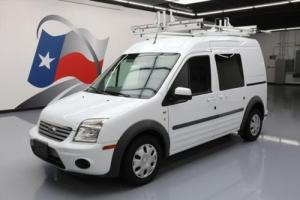 2012 Ford Transit Connect XLT 5-PASS LADDER RACK