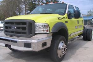 2005 Ford F-550 SUPER DUTY 4X4 CREW CAB