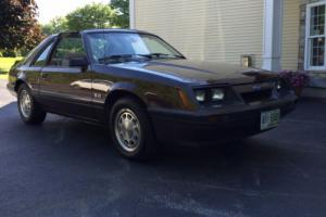 1986 Ford Mustang Hatchback