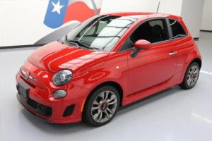 2015 Fiat 500 TURBO HATCHBACK 5-SPD ALLOY WHEELS