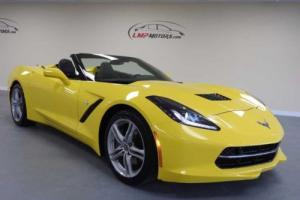 2016 Chevrolet Corvette Stingray w/3LT