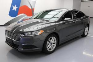2016 Ford Fusion SE CRUISE CTRL NAV REAR CAM ALLOYS