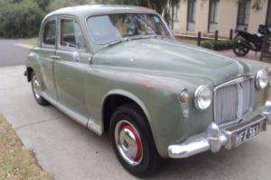 1959 rover p4 100 sedan 6cyl 4 spd manual overdrive vintage