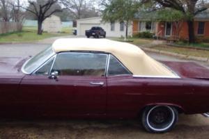 1967 Mercury Comet Coupe convertible