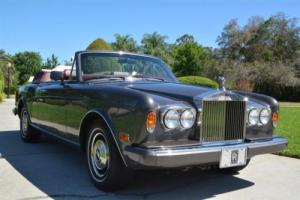 1985 Rolls-Royce Corniche -- Photo