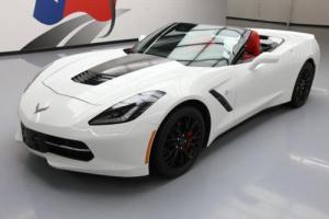 2014 Chevrolet Corvette CONVERTIBLE LT 7SPD REAR CAM