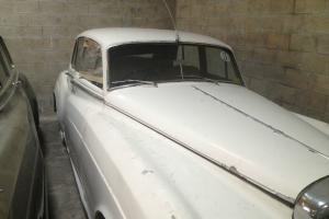 BENTLEY 4-DOOR 1957 WHITE