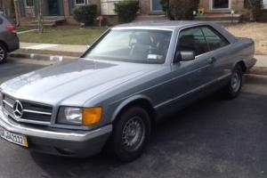 1983 Mercedes-Benz 500-Series 380SEC