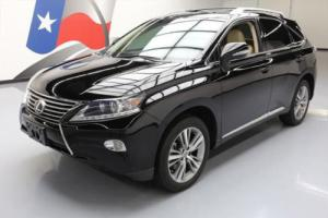2015 Lexus RX PREM VENT LEATHER SUNROOF NAV