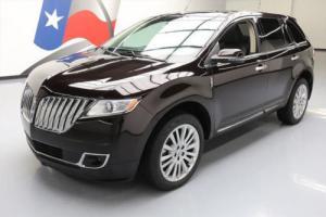 2013 Lincoln MKX ELITE PANO ROOF NAV REAR CAM 20'S