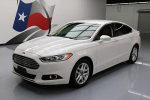 2014 Ford Fusion SE ECOBOOST LEATHER NAV REAR CAM