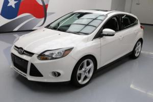 2012 Ford Focus TITANIUM SUNROOF LEATHER NAV