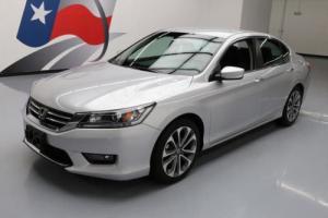 2014 Honda Accord SPORT SEDAN CVT REARVIEW CAM Photo