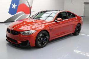2015 BMW M4 COUPE TURBO EXECUTIVE SUNROOF NAV HUD