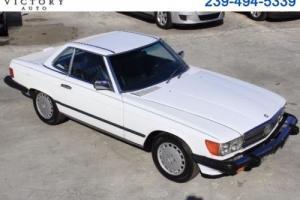 1988 Mercedes-Benz 500-Series SL coupe Photo