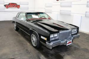 1985 Cadillac Eldorado Runs Drives Body Inter Excel 4.1L V8 4 spd auto