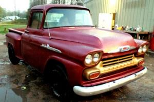 1958 Chevrolet Other Pickups OTHER APACHE C10 3100 STEPSIDE V8 TRUCK CHEVY