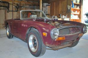 1972 Triumph TR-6 Photo
