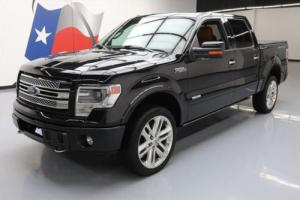 2013 Ford F-150 LTD CREW 4X4 ECOBOOST SUNROOF NAV