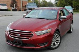 2014 Ford Taurus LIMITED VENT LEATHER NAV REAR CAM Photo