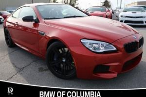 2016 BMW M6 2dr Coupe