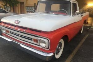 1962 ford f100 f100