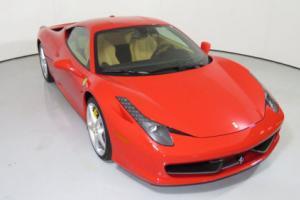 2014 Ferrari 458 2dr Coupe