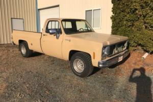 1978 Chevrolet C-10