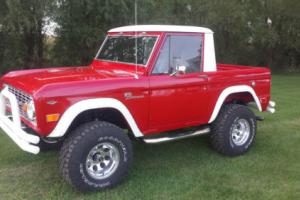 1966 Ford Bronco 66 Half Cab Survivor Stored since 1978